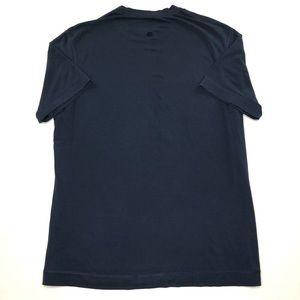 Lululemon Tech T Shirt Mens XL Blue Workout Yoga